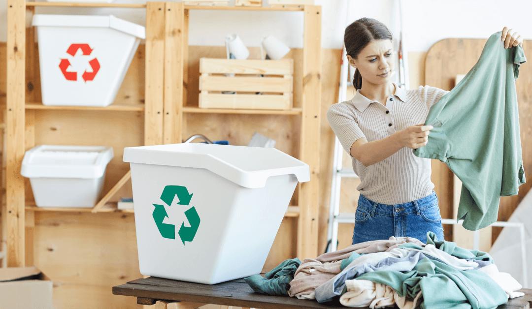 De los residuos a una obra de arte: ideas para reciclar textiles