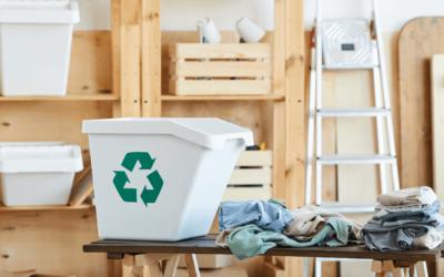 Qué hacer con el reciclaje de ropa y textiles